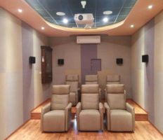 Home theatre at Pala Kerala