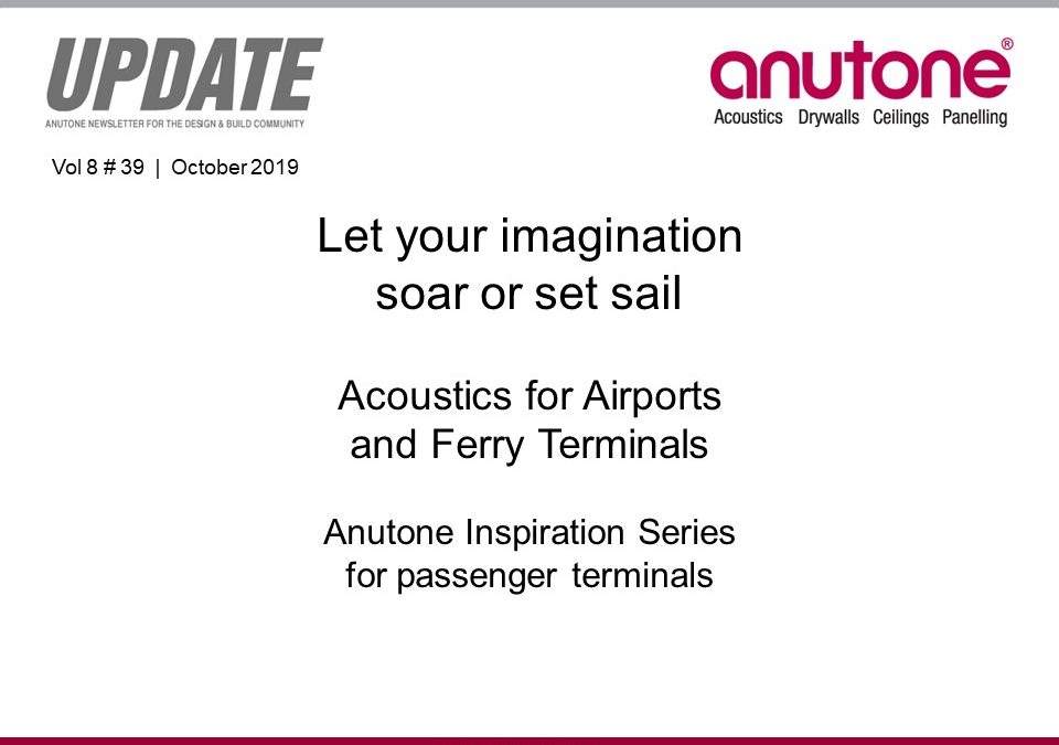 Video Newsletter – Acoustics for Airports and Ferry Terminals