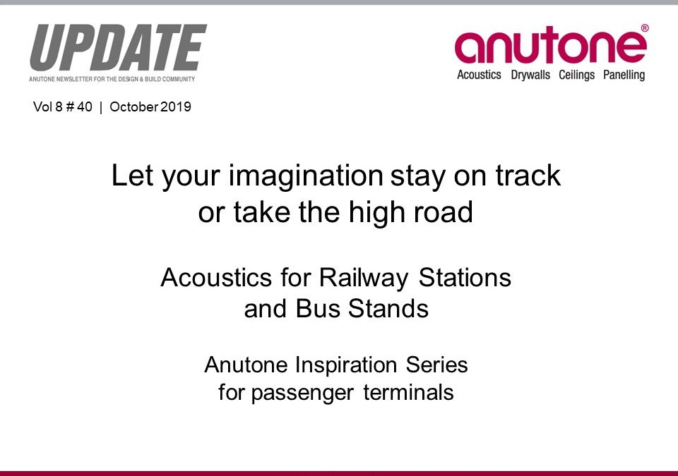 Video Newsletter – Acoustics for Railway and Bus Stations