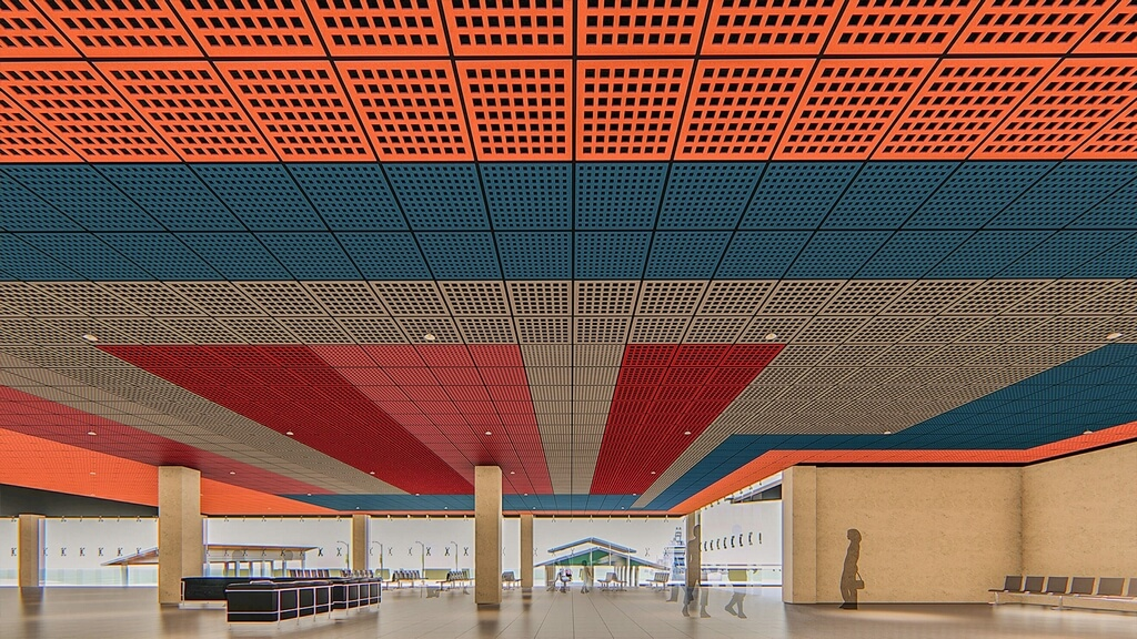 Acoustics for Airports and Ferry Terminals