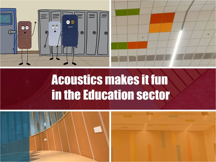 Video – Acoustics in the Education sector