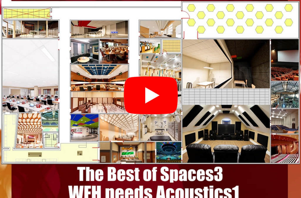 The Best of Spaces3 – WFH needs Acoustics1