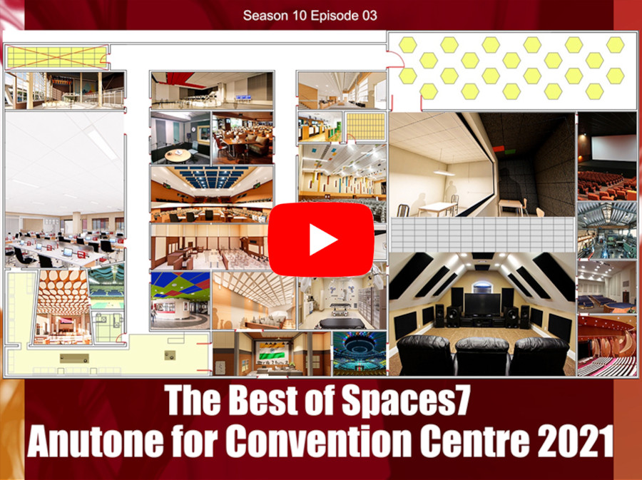The Best of Spaces7 – Anutone for Convention Centre 2021