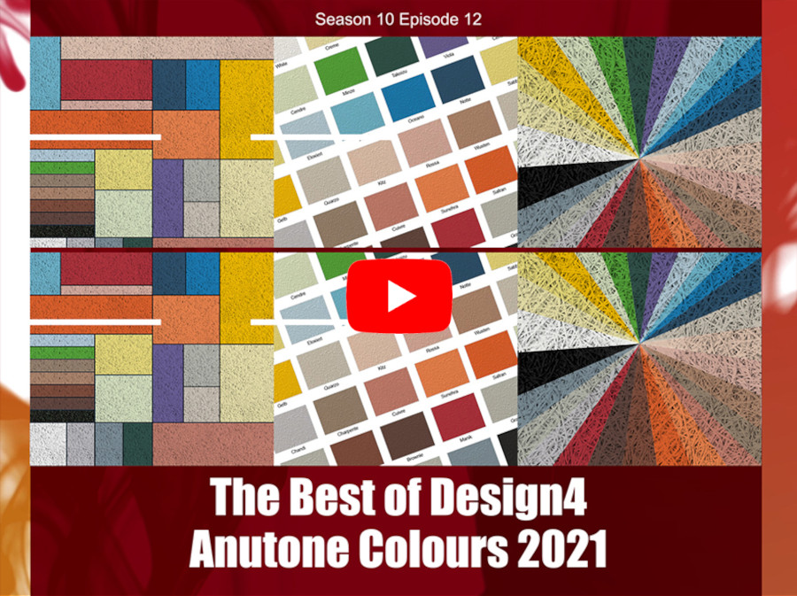 The Best of Design4 – Anutone Colours 2021